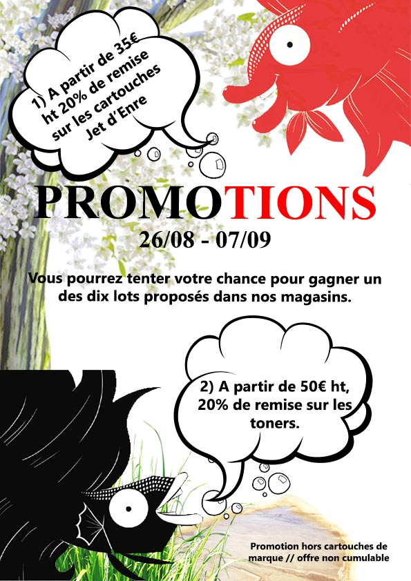 Semaine 34 - Promotions aout 2019