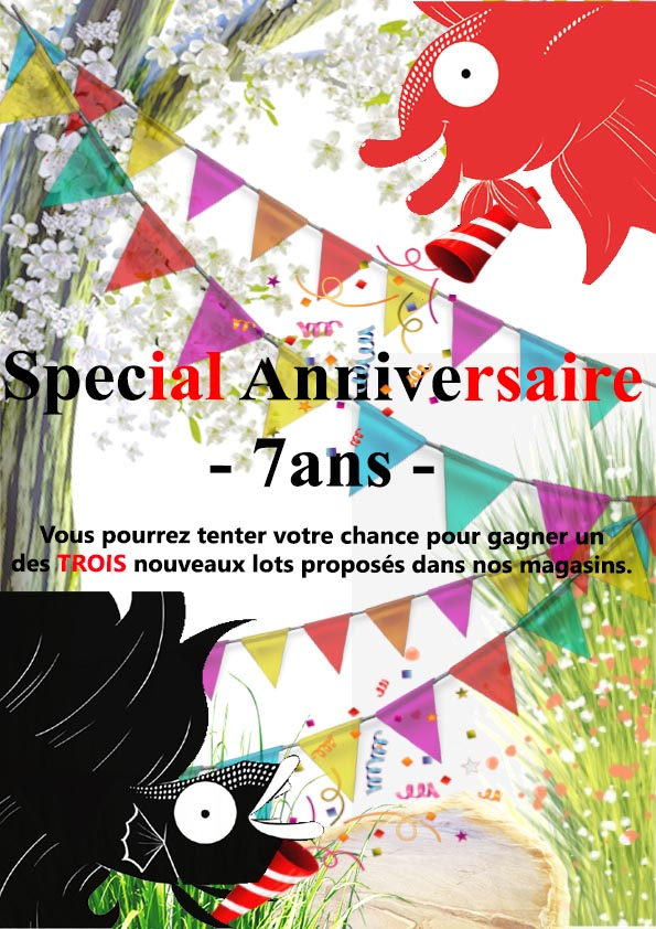 Semaine 35 - Special Anniversaire - 7ans